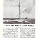 1965 Jensen Marine Ca- 40 Yacht Ad- Nice Photo