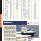 2004 Mikelson 61 Yacht Review & Specs- Nice Photo
