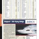 2004 Skipjack 368 Flying Bridge Yacht Review & Specs- Nice Photo