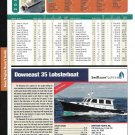 2004 Downeast 35 Lobsterboat Review & Specs- Nice Photo
