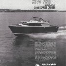 1964 Trojan Sea Skiff 2800 Express Cruiser Ad- Nice Photo