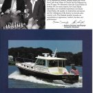 2003 Grand Banks 43 Eastbay HX Yacht Color Ad