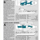 1986 Wolfe 46 & Cape Dory 30 MKII New Boats Reviews & Specs