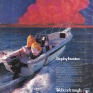 1986 Wellcraft Marine 23' Fisherman Yacht Color Ad