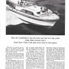 1964 Chris- Craft 30' Constellation Yacht Ad- Nice Photo
