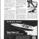 1972 Autocoast Company Ad- Nice Photo Marauder Super Sport 22 Boat