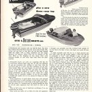 1957 Otis C Borum Boats Ad- Nice Photos of 16' Adventurer
