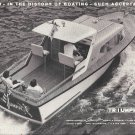 1960 Triumph Boats Ad- Great Photo