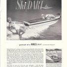 1960 Century Boat Company Ad- Nice Photo of Ski- Dart- Hot Girls