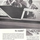 1960 Lone Star Boats Ad- Nice Photo 18' Bar Harbor
