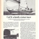 1979 Jensen Marine Cal 31 Cruiser/ Racer Boat Review- Nice Photo