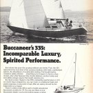 1979 Buccaneer 335 Yacht Ad- Nice Photo
