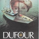 1979 Dufour Yacht Color Ad- Nice Photo