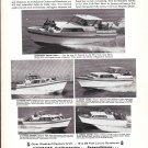 1965 Shepherd Cruisers Ad- Nice Photos of 5 Models