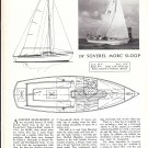 1965 Soverel 28' Morc Sloop Review & Specs- Nice Photo