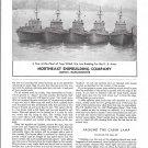 1944 WW II Northeast Shipbuilding Co Ad-Nice Photo U S Army Tugs