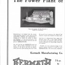 1925 Kermath Marine Engines 2 Page Ad- Nice Photo of Matthews 38 Yacht