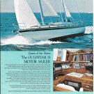 1970 Gulfstar 53 Motor Sailer Color Ad- Nice Photo