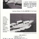 1965 Mathis Yacht Building Co Ad- Nice Photo Mathis 33'