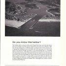 1971 Chubb Insurance Ad- Nice Photo of Manasquan Inlet Intercoastal Waterway