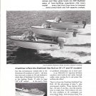 1966 Crestliner Boats 2 Page Ad- Nice Photos of 7 Models