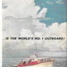1960 Kiekhaefer Mercury 80 HP. Outboard Motor 2 Page Color Ad- Nice Photo