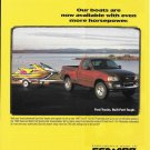 1996 Sea- Doo Watercraft Color Ad- Nice Photo- Ford F-150 XLT