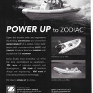 1996 Zodiac of North America Boats Ad- Nice Photos of 3 Models