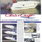 1996 Chris- Craft Yachts Color Ad- Nice Photos of 5 Models