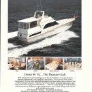 1985 Ocean 46' SL Yacht Color Ad- Nice Photos