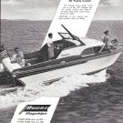 1957 Owens Yacht Company Ad- Nice Photo of 22' Cruiser