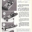 1962 Lyman Boat Works Ad- Nice Photo of 16'- 20- 24' Models