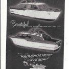 1956 Trojan Boat Company Ad- Nice Photos Model 25-4 Sea Breeze