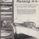 1958 Roamer Steel Boats Ad- Photos of 5 Models