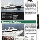 2006 Hampton 680 & Marlow Explorer 65C New Boats Reviews & Specs- Nice Photos
