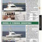 2006 Riviera 37 & 42' New Yachts Reviews & Specs- Nice Photos
