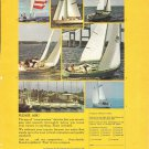 1972 Pearson Yachts Color Ad- Nice Photos of 6 Models
