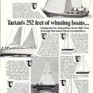 1972 Tartan Marine Company Ad- Nice Photos 3 Sailboats