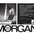 1971 Morgan 27 Yacht Ad- Nice Photo