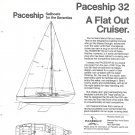 1971 Paceship 32 Yacht Ad
