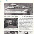 Old Tollycraft 50 Yacht Ad- Nice Photos
