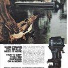 1974 Mercury 85 HP Outboard Motors Color Ad-Nice Photo-Tony Allbright