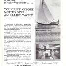 1967 Allied Boat Company Ad- Nice Photo Seabreeze 35