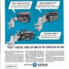 1967 Chrysler Marine Engines Ad- Photos of 3 Models
