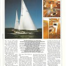 1988 Able 50 Yacht Review & Specs- Nice Photo