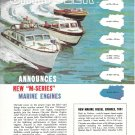 1960 Chrysler Marine Engines Color Ad- M- Series