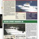 2006 Skipjack 30 & Ocean Sport Roamer 30 New Yachts Reviews & Specs-Nice Photos