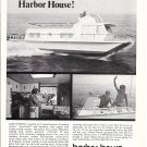 1973 Harbor House Houseboat Ad- Nice Photo