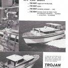 1966 Trojan 42' Motor Yacht Ad- Nice Photos- Hot Girl