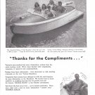 1945 Ventnor 19' Runabout Boat Ad- Nice Photo- Hot Girls